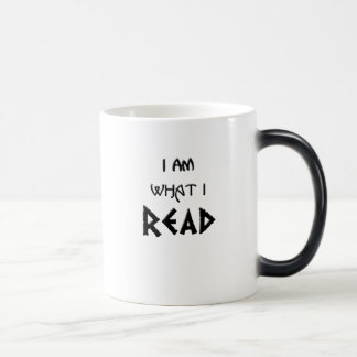 I Am What I Read Magic Mug