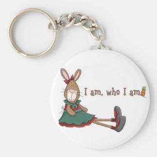 I Am Who I Am Keychain