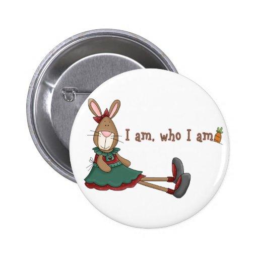 I Am Who I Am Pins