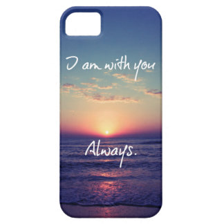 I am with you Always Bible Verse iPhone SE/5/5s Case
