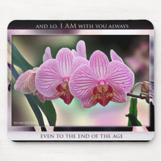 I Am With You Always mousepad