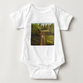 I  am with you baby bodysuit