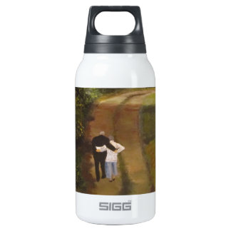 I  am with you insulated water bottle