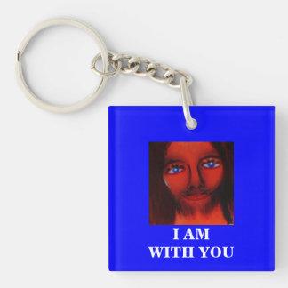 I AM WITH YOU KEYCHAIN