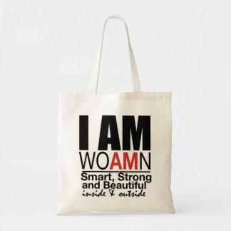 I AM WOAMN Tote Bag