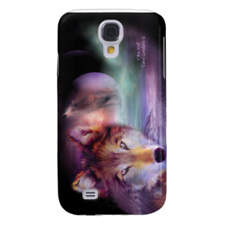 I Am Wolf Art Case for iPhone 3 Samsung Galaxy S4 Case