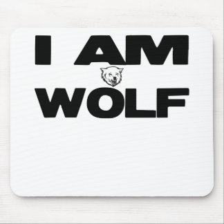 I Am Wolf Mouse Pad
