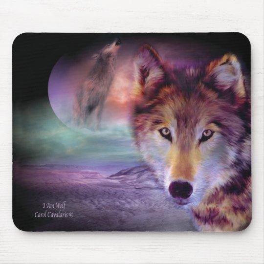 I Am Wolf Mousepad
