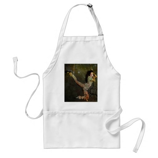 I AM WOMAN ~ I CHOOSE MY OWN HEIGHTS APRONS