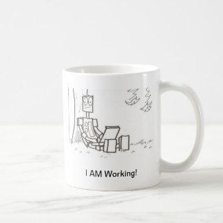 i AM working Classic White Coffee Mug