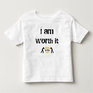 I am worth it toddler t-shirt