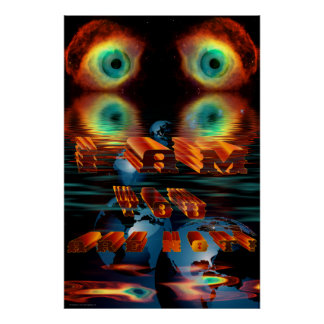 I-am-YOU-are-NOT-Helix Nebula-Ver-1 Print