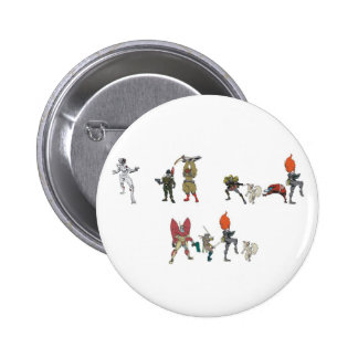 I am Your Hero Pinback Buttons
