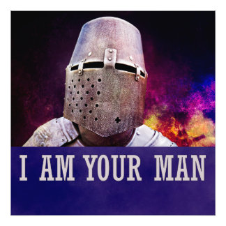 I am your man photo print