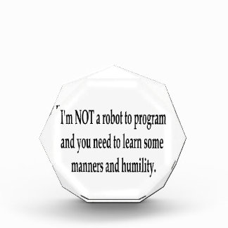 I Am Your Robot #3 Awards