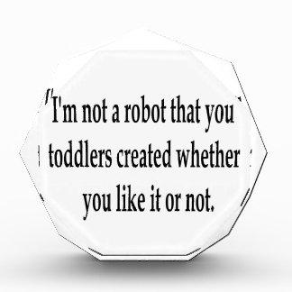 I Am Your Robot Award