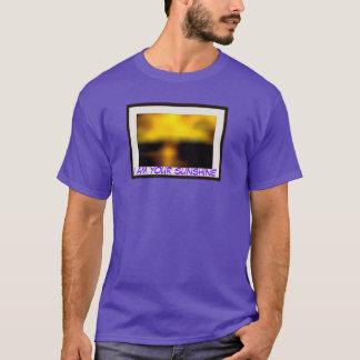 I am your Sunshine basic purple T-Shirt