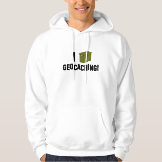 I (ammo can) Geocaching! Hoodie