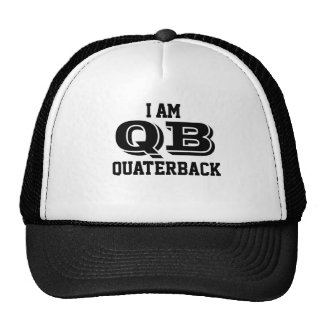 I amndt quaterback trucker course trucker hat