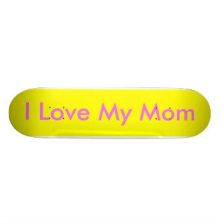 I, amo a mi mamá patinetas personalizadas