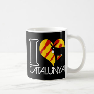 I Amor Catalunya Taza Clásica