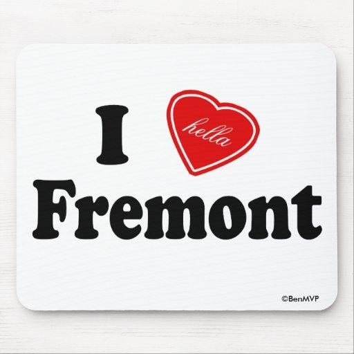 I amor (de Hella) Fremont Alfombrillas De Raton