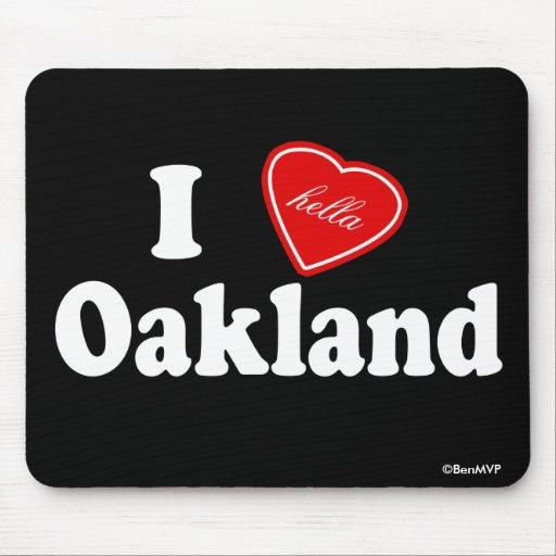 I amor (de Hella) Oakland Tapetes De Ratón