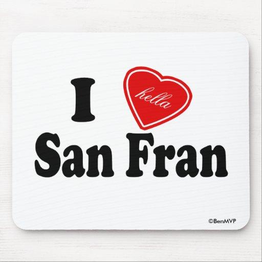I amor (de Hella) San Fran Tapetes De Raton