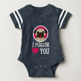 I amor de Puggin usted Remeras