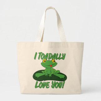 I amor de Toadally usted Bolsas De Mano
