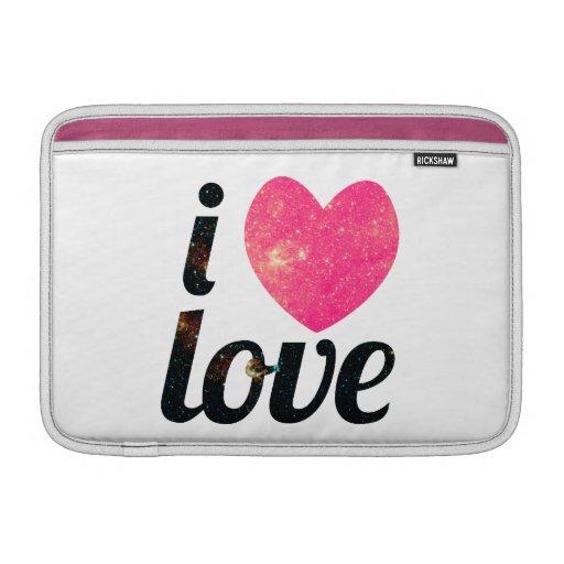 I amor del corazón fundas macbook air