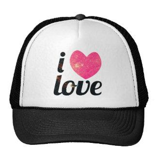I amor del corazón gorras de camionero