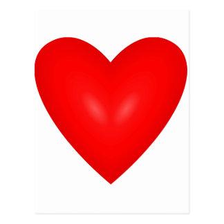 I amor del corazón tarjetas postales
