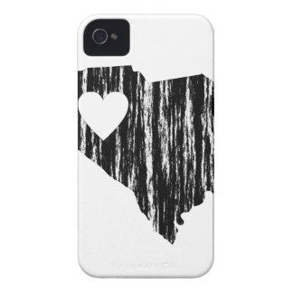 I amor del estado del esquema del Grunge de Carcasa Para iPhone 4 De Case-Mate