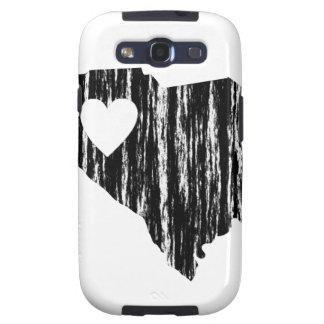 I amor del estado del esquema del Grunge de Carcasa Para Samsung Galaxy SIII