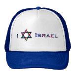 I (amor) Israel - estrella de David Gorros Bordados