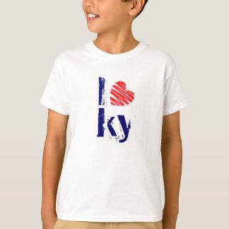 I amor retro KY de la camiseta de la moda de