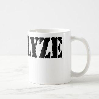 I Analyze Coffee Mug