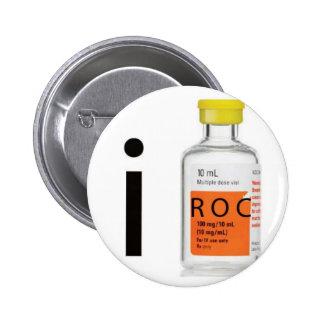 I anestesia del ROC Pin Redondo De 2 Pulgadas