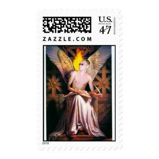 I ángel sellos postales