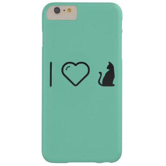 I animales de Halloween del corazón Funda De iPhone 6 Plus Barely There