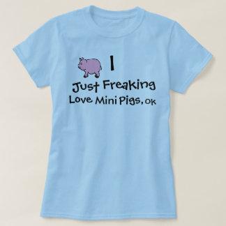 I apenas cerdos Freaking del amor, autorización Playera