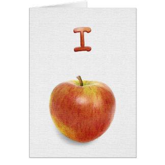 I apologize I apple-ogize Cards