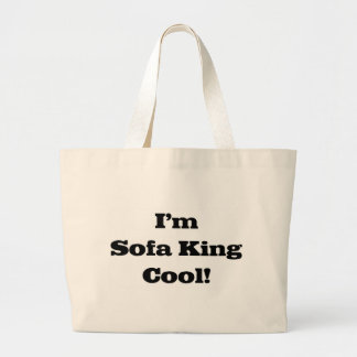I'm sofa king cool canvas bag