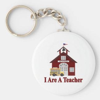 I Are A Teacher Keychain