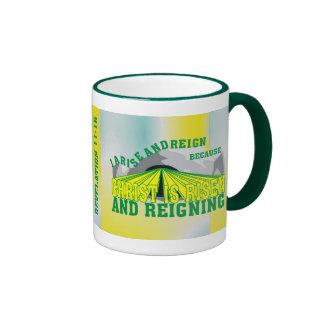 I Arise and Reign© Ringer Coffee Mug