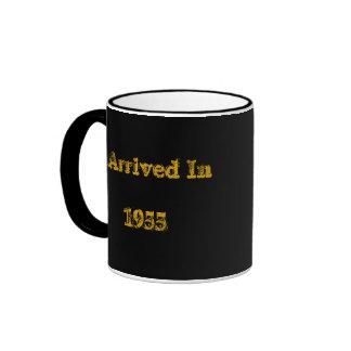 I Arrived In1955 Ringer Mug