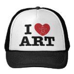 I ARTE del corazón Gorros