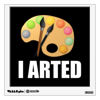 I arted wall decal