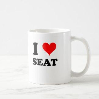 I asiento para dos tazas de café